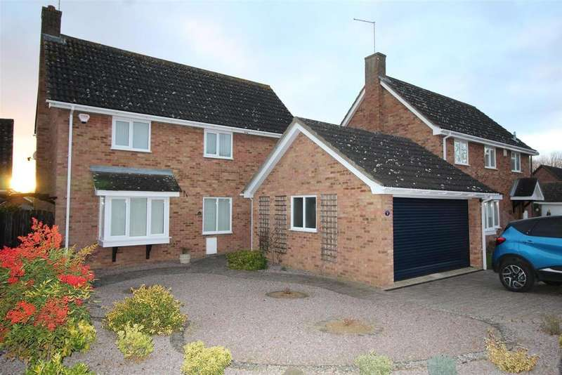 4 Bedrooms Detached House for sale in Lakeside, Peterborough