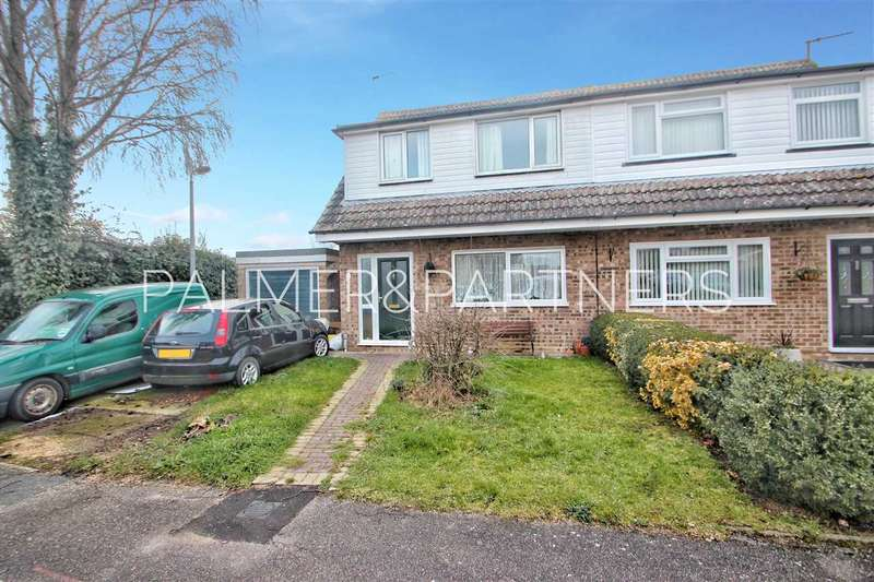 3 Bedrooms Semi Detached House for sale in Well Side, Marks Tey, Colchester
