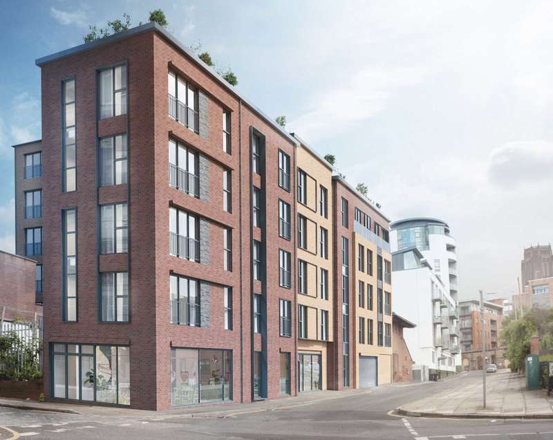 1 Bedroom Apartment Flat for sale in Lydia Ann Street, Liverpool