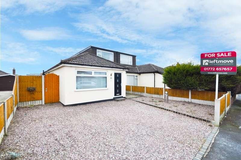 4 Bedrooms Semi Detached House for sale in Calder Avenue, Freckleton, Preston, Lancashire, PR4 1DN