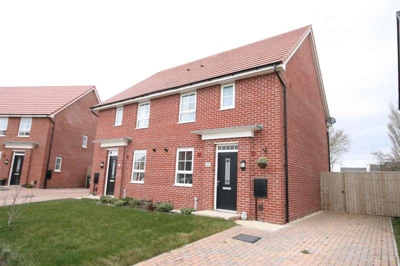 3 Bedrooms Semi Detached House for sale in Grasshopper Drive, Warton, Preston
