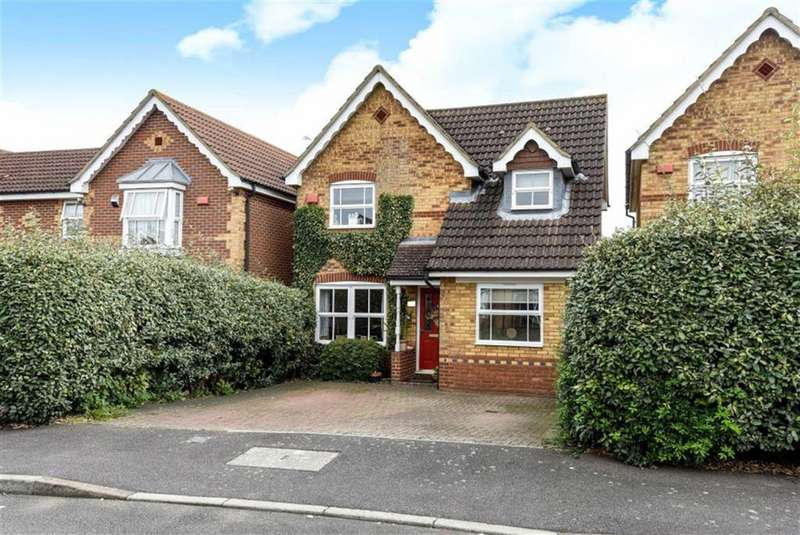 4 Bedrooms Detached House for sale in Lilley Way, Cippenham