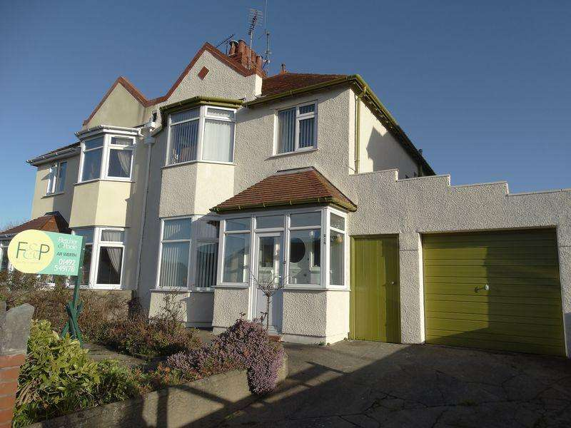 3 Bedrooms Semi Detached House for sale in Dinerth Road, Colwyn Bay