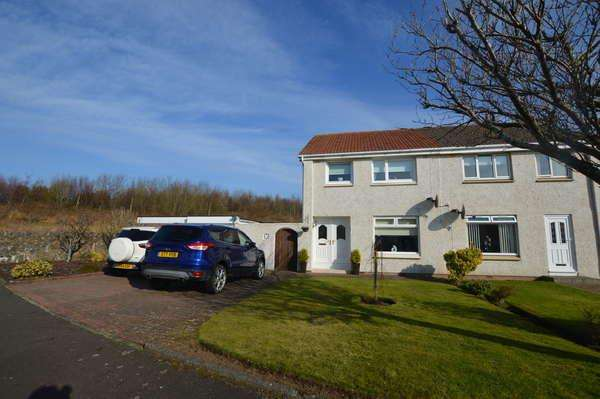 3 Bedrooms Semi-detached Villa House for sale in 8 Haupland Road, Ardrossan, KA22 7PN