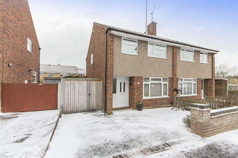 3 Bedrooms Semi Detached House for sale in MILTON CLOSE, MICKLEOVER