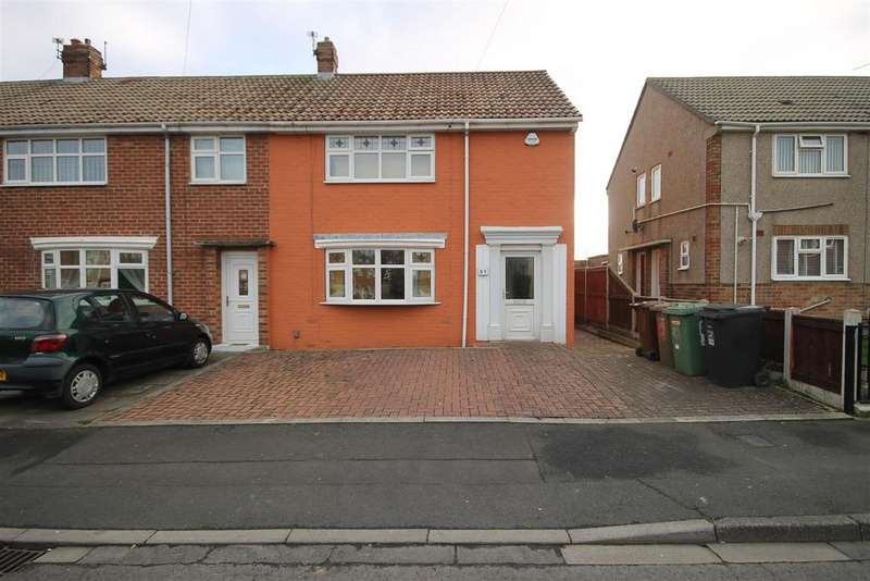 2 Bedrooms End Of Terrace House for sale in Tempest Road, King Oswy, Hartlepool