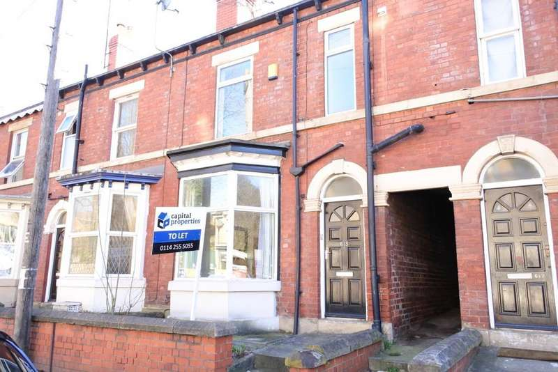 3 Bedrooms Terraced House for rent in Abbeydale Road, Sheffield S7