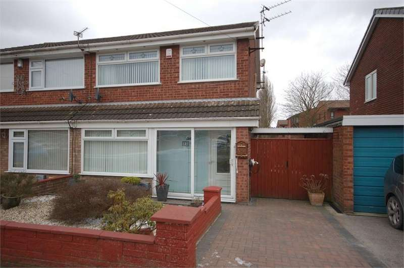 3 Bedrooms Semi Detached House for sale in Meadowcroft, Sutton Leach, ST HELENS, Merseyside