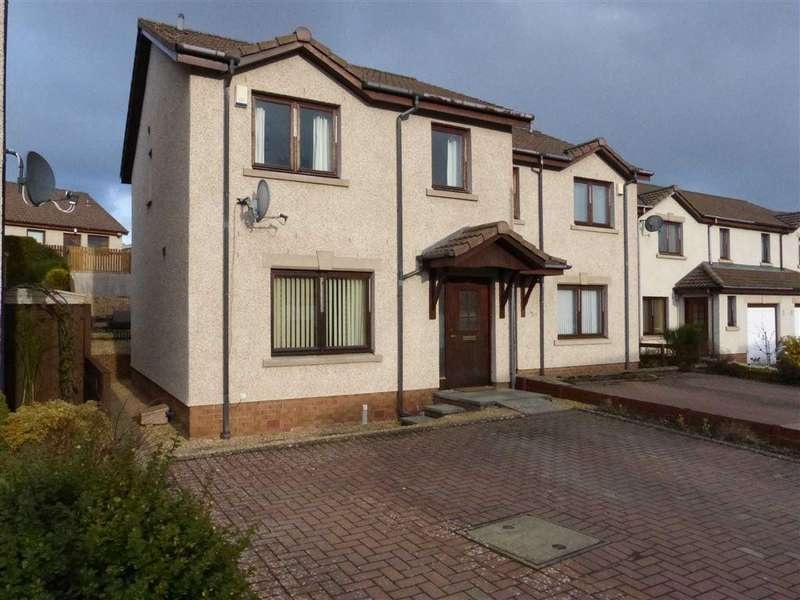 3 Bedrooms Semi Detached House for sale in Honeyberry Crescent, Blairgowrie, Perthshire