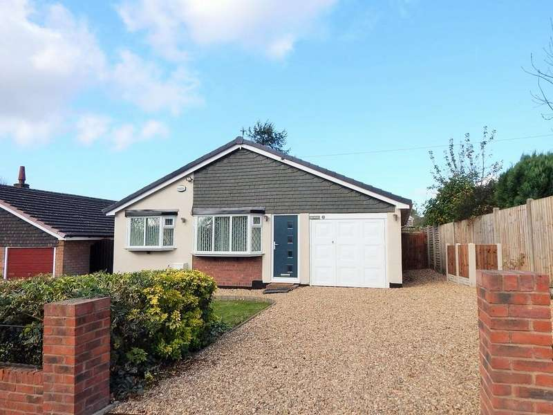 3 Bedrooms Detached Bungalow for sale in Sycamore Hill, Cannock Wood, Staff WS15