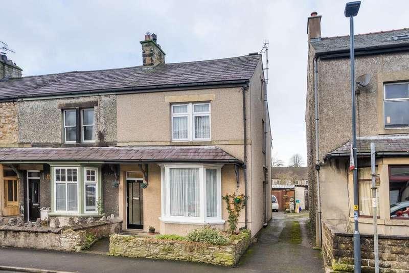 4 Bedrooms End Of Terrace House for sale in 19 Goodenber Road, Bentham, Lancaster, Lancashire LA2 7JD
