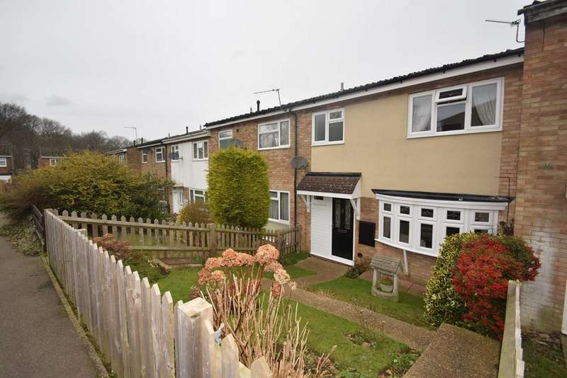 3 Bedrooms Terraced House for sale in Conifer Drive, Chatham, ME5