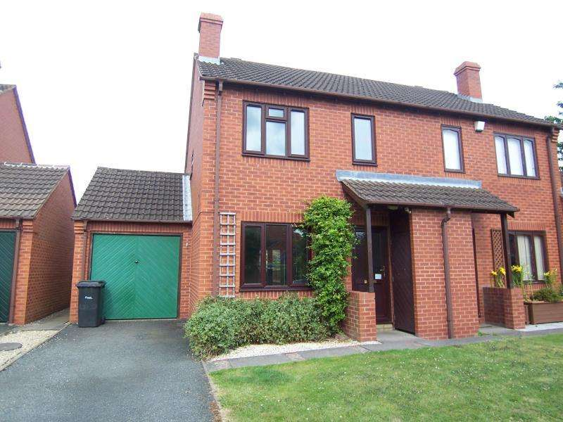 3 Bedrooms Semi Detached House for rent in 4 Harefields Close, Baschurch, Shropshire, SY4 2DQ