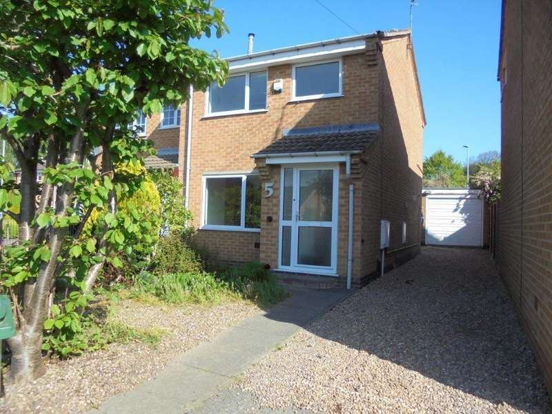 2 Bedrooms Semi Detached House for sale in Hailey Avenue, Loughborough