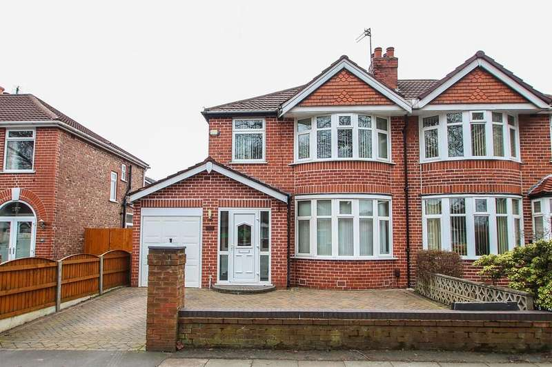 3 Bedrooms Semi Detached House for sale in Canterbury Road, Urmston, Manchester, M41