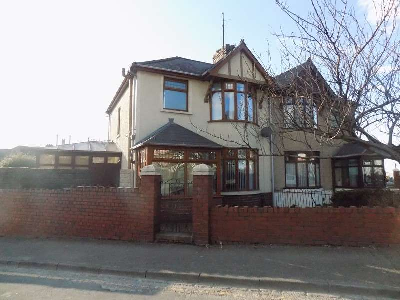 3 Bedrooms Semi Detached House for sale in Bertha Road, Port Talbot, Neath Port Talbot. SA13 2AW