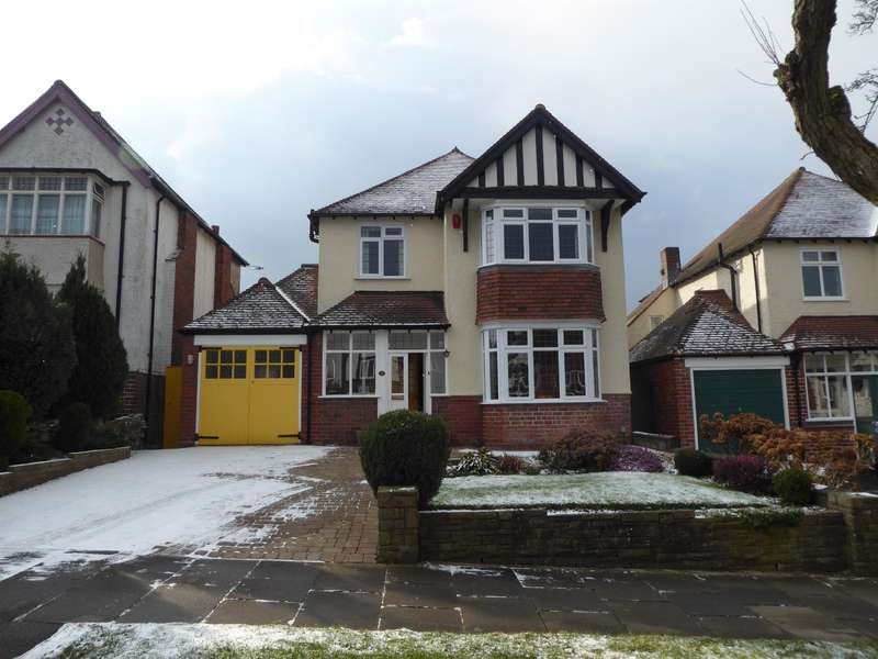 3 Bedrooms Detached House for sale in Ellesboro Road, Harborne, Birmingham, B17 8PT