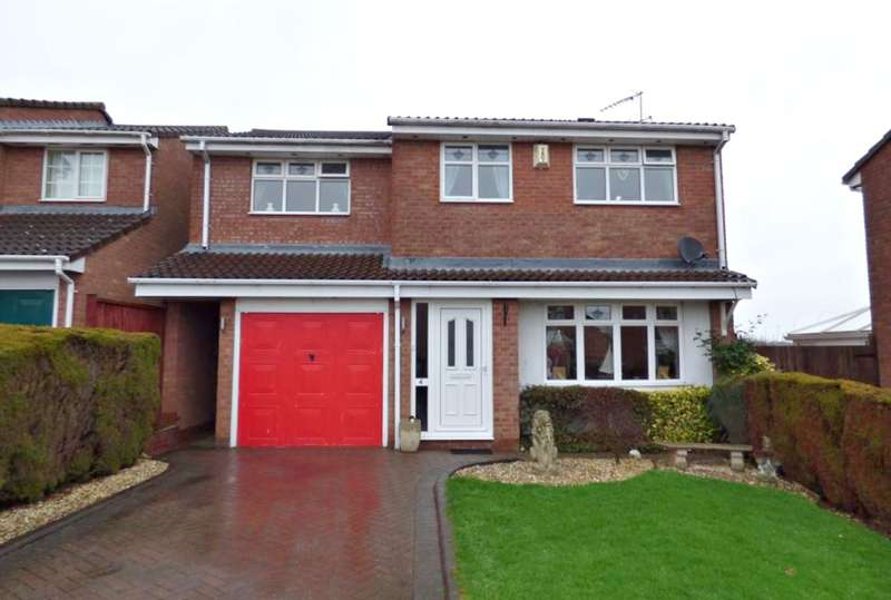 4 Bedrooms Detached House for sale in Ruskin Close, Galley Common, Nuneaton, CV10
