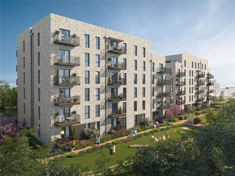 1 Bedroom Flat for sale in Watford Riverwell, Thomas Sawyer Way, Watford, Hertfordshire, WD18