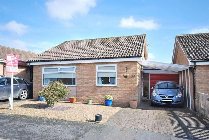 2 Bedrooms Detached Bungalow for sale in Sarson Close, Asfordby, Melton Mowbray