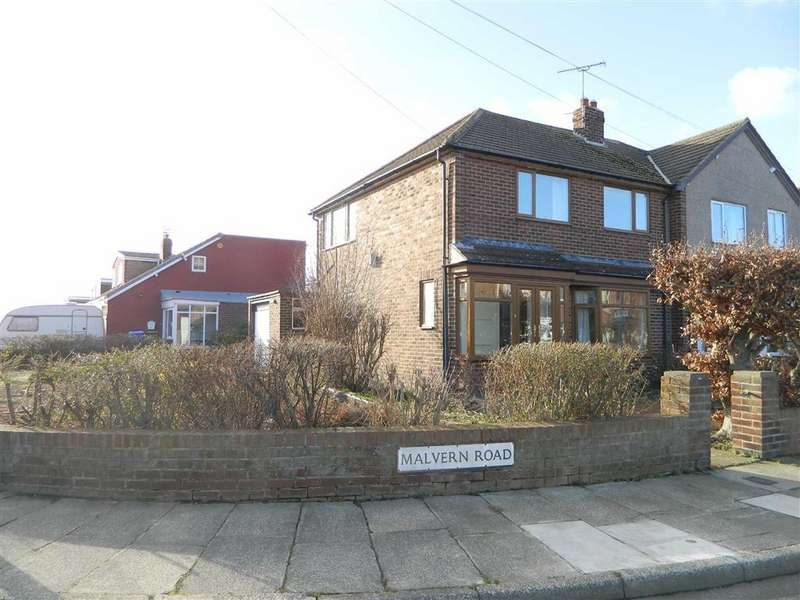 3 Bedrooms Semi Detached House for sale in Malvern Road, Seaton Sluice, Whitley Bay, NE26