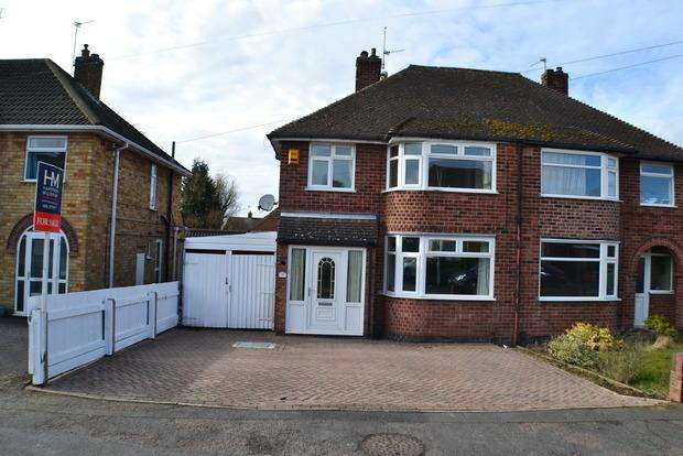 3 Bedrooms Semi Detached House for sale in Bramcote Road, Wigston Fields, Leicestershire, LE18