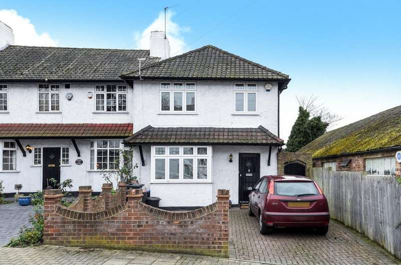 3 Bedrooms End Of Terrace House for sale in Ellen Close Bromley BR1