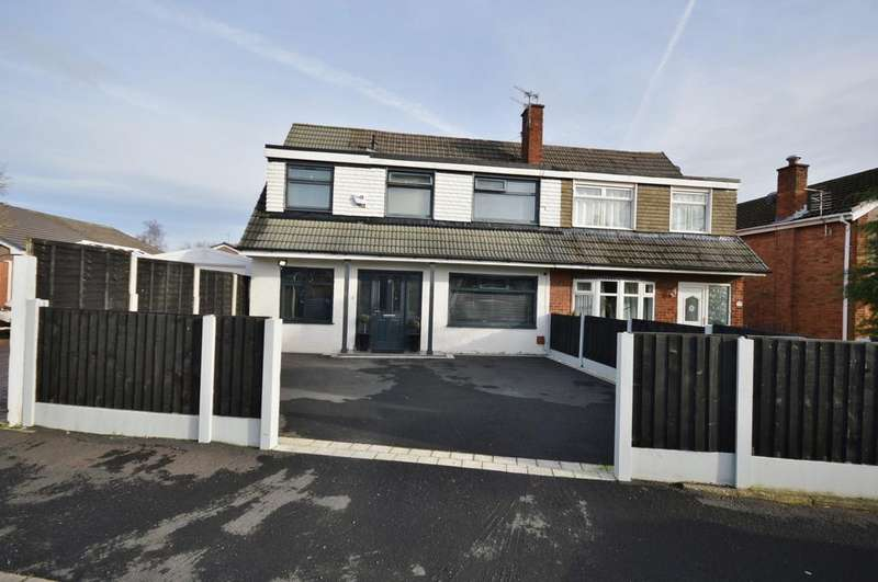 4 Bedrooms Semi Detached House for sale in Yew Tree Park Road, Cheadle Hulme,