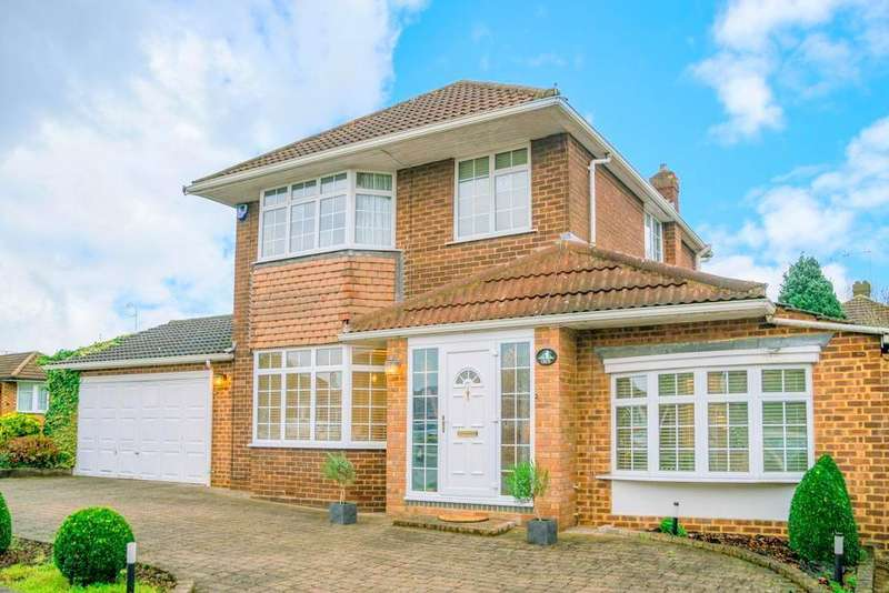 3 Bedrooms Detached House for sale in Hillview Crescent, Luton, Bedfordshire, LU2 7AA