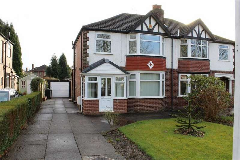 3 Bedrooms Semi Detached House for rent in Dean Lane, Hazel Grove, Stockport, Cheshire
