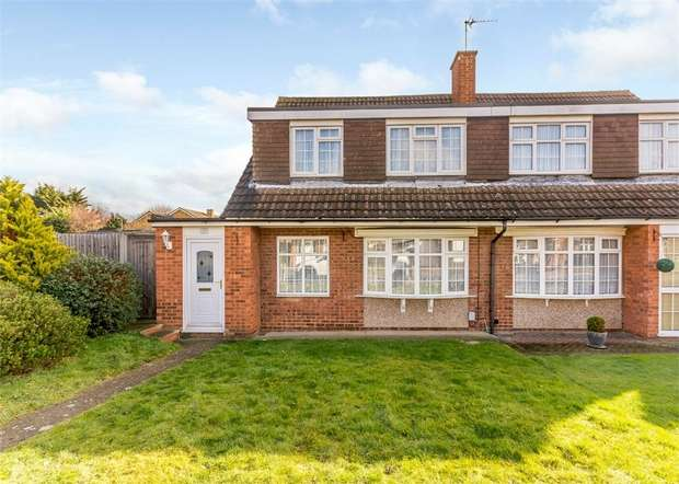 3 Bedrooms Semi Detached House for sale in Perrysfield Road, Cheshunt, Waltham Cross, Hertfordshire