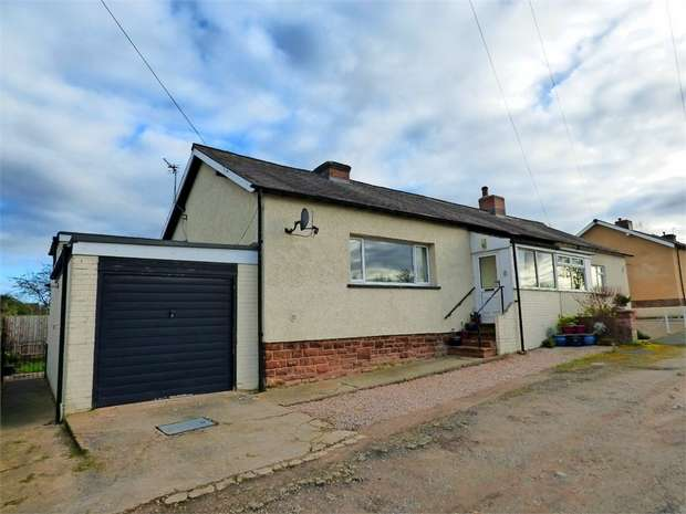 3 Bedrooms Semi Detached Bungalow for sale in Ladysteps, Scotby, Carlisle, Cumbria