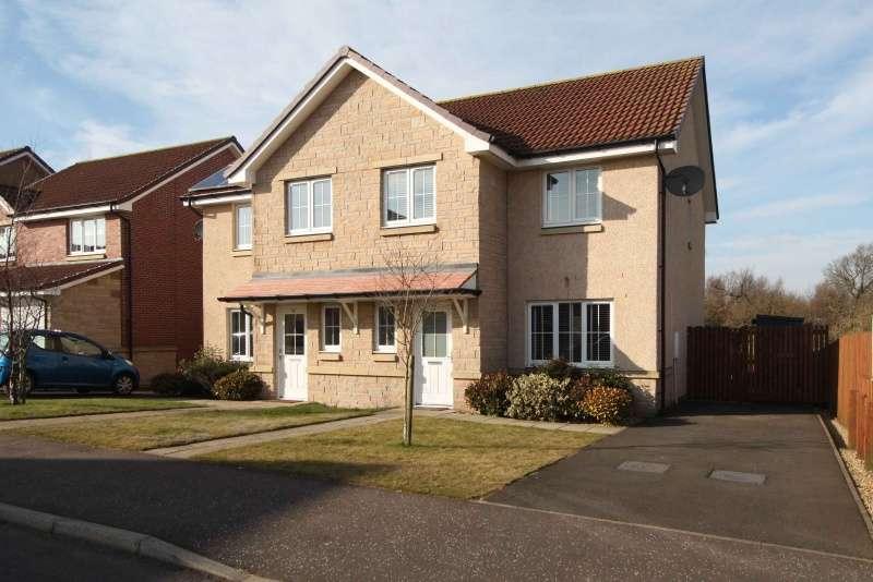 3 Bedrooms Semi-detached Villa House for sale in Netherton Road, Cowdenbeath, Fife, KY4 9BU