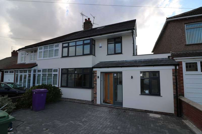 4 Bedrooms Semi Detached House for sale in Melbreck Road, Mossley Hill