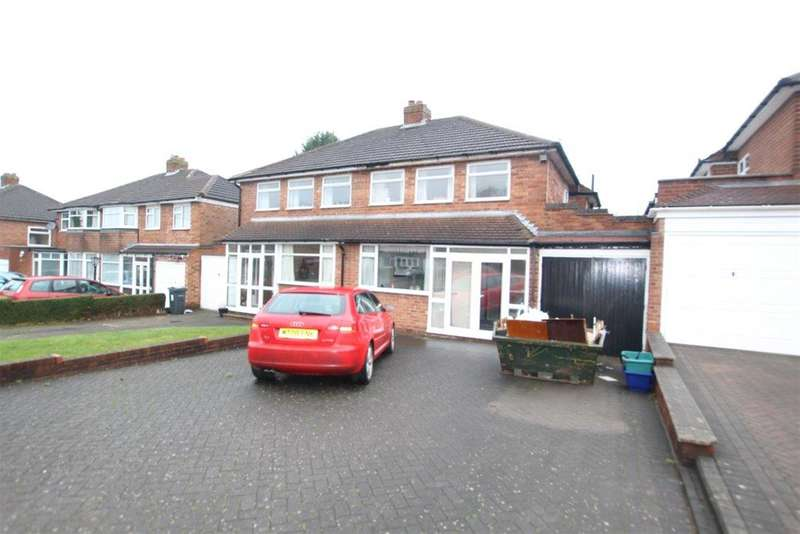 3 Bedrooms Semi Detached House for sale in Randle Drive, Sutton Coldfield, B75 5LH