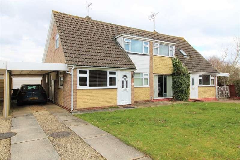 3 Bedrooms Semi Detached House for sale in Larksfield, Covingham