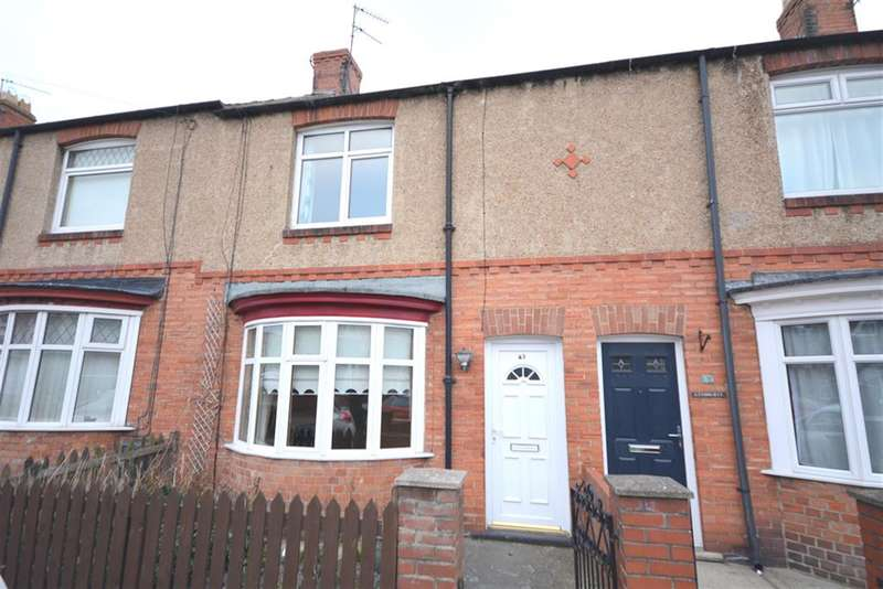 2 Bedrooms Terraced House for sale in Arthur Terrace, Bishop Auckland, DL14 6BL