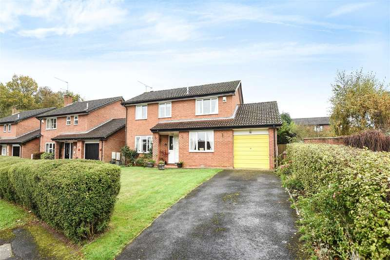 4 Bedrooms Detached House for sale in Ruskin Way, Wokingham, RG41