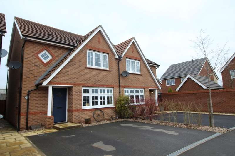 3 Bedrooms Semi Detached House for sale in Corrib Road, Nuneaton, CV10