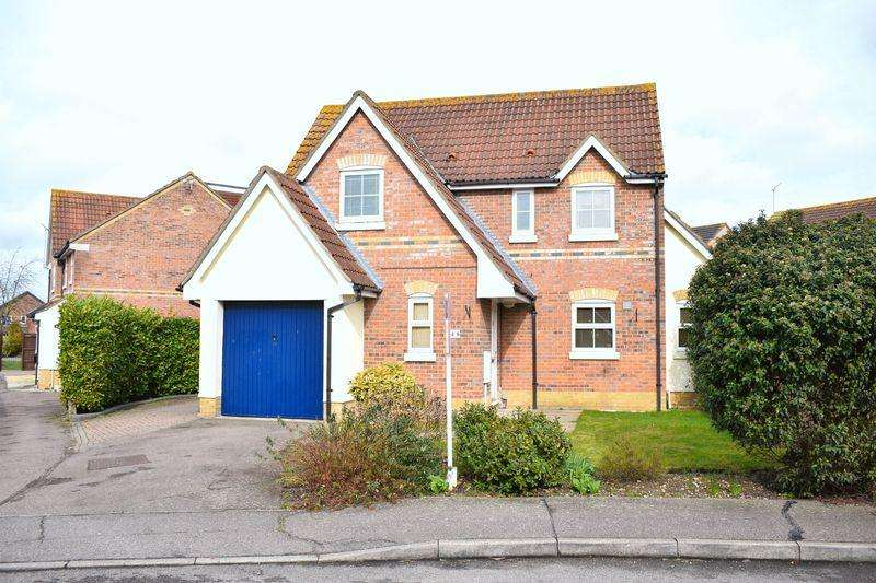 4 Bedrooms Detached House for sale in Albert Gardens, Church Langley