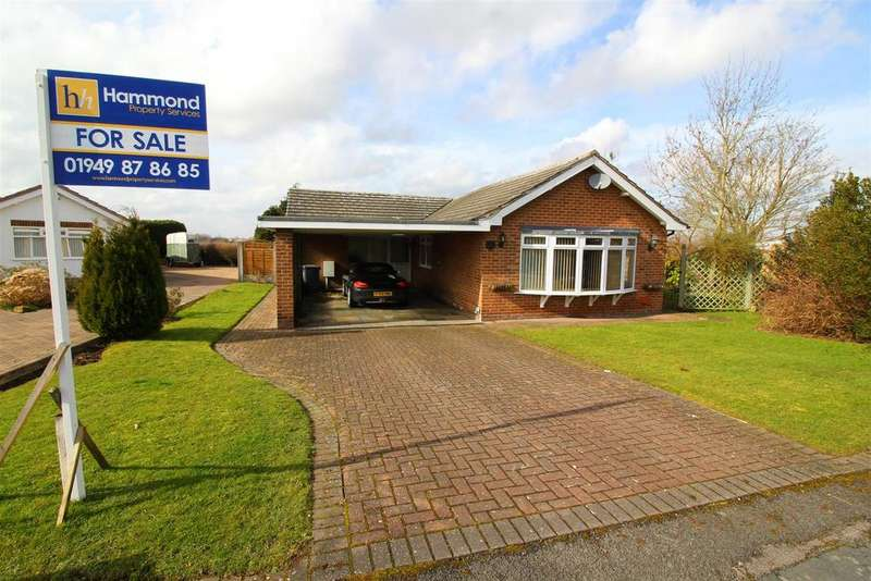 3 Bedrooms Detached Bungalow for sale in Conery Gardens, Whatton