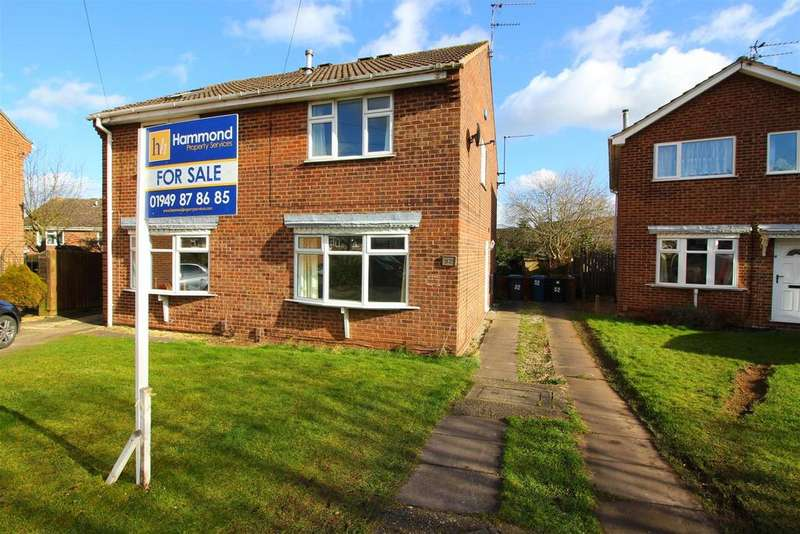 2 Bedrooms Semi Detached House for sale in Langdale Grove, Bingham, Nottingham