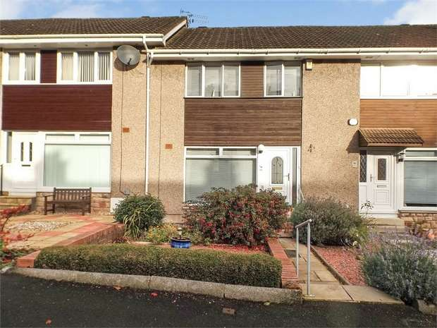 3 Bedrooms Terraced House for sale in Millburn Avenue, Rutherglen, Glasgow, South Lanarkshire