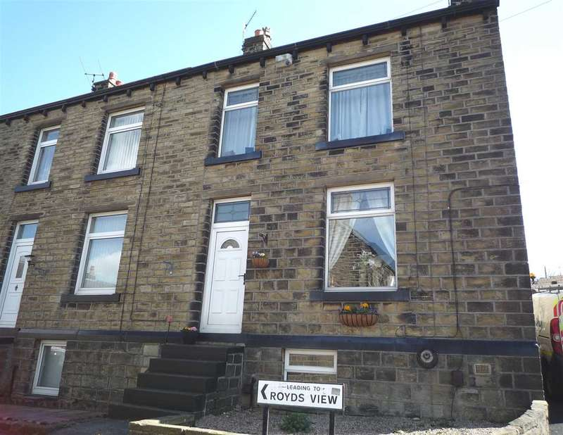 3 Bedrooms End Of Terrace House for sale in Colne View Off Royd House, Linthwaite, Huddersfield
