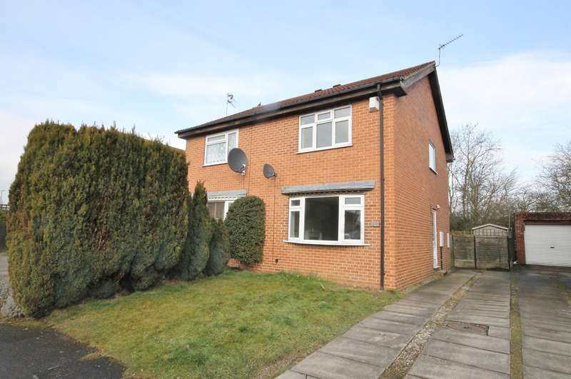 2 Bedrooms Semi Detached House for rent in Favenfield Road, Thirsk YO7 1FZ