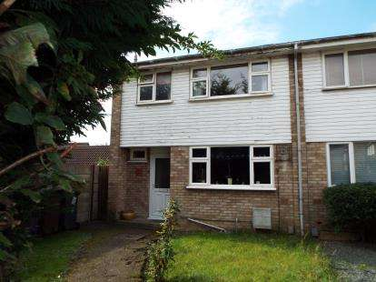 3 Bedrooms Semi Detached House for sale in Pyms Close, Letchworth, Hertfordshire