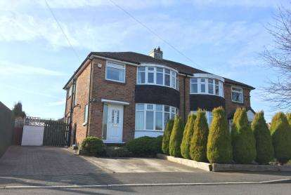 3 Bedrooms Semi Detached House for sale in Hebble Mount, Meltham, Holmfirth, West Yorkshire