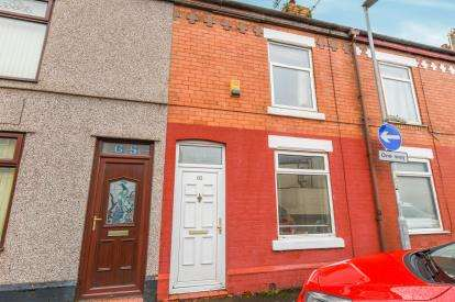 2 Bedrooms Terraced House for sale in Cumberland Street, Latchford, Warrington, Cheshire