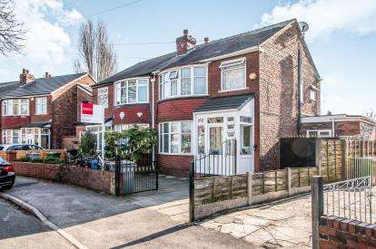 4 Bedrooms Semi Detached House for sale in Bedford Road, Firswood, Manchester, Greater Manchester