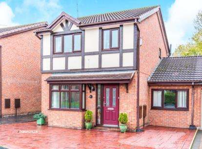 4 Bedrooms Detached House for sale in Barlow Fold Road, Reddish, Stockport, Cheshire